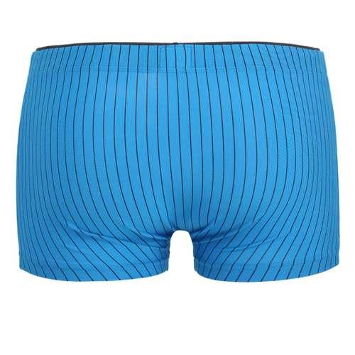Bild von CECEBA Herren Hip Pants blau längsgestreift 1er Pack 180° Ansicht