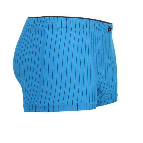 Bild von CECEBA Herren Hip Pants blau längsgestreift 1er Pack 290° Ansicht