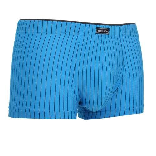 Bild von CECEBA Herren Hip Pants blau längsgestreift 1er Pack 330° Ansicht