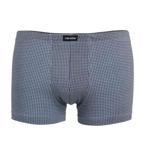 CECEBA Herren Pants blau bedruckt 1er Pack im 0° Winkel