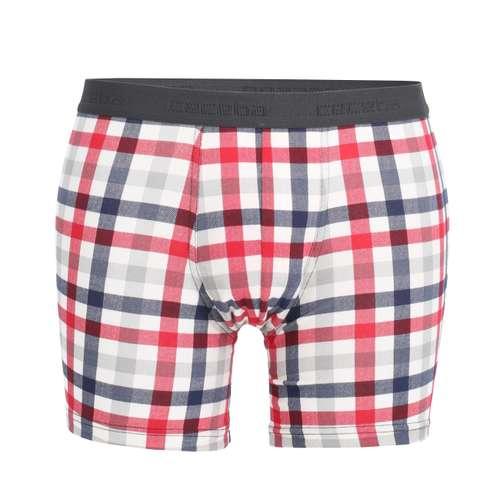 CECEBA Herren Long-Pants weiß kariert 1er Pack im 0° Winkel