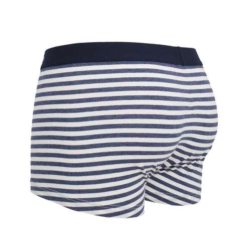 Bild von CECEBA Herren Hip Pants blau quergestreift 1er Pack 120° Ansicht