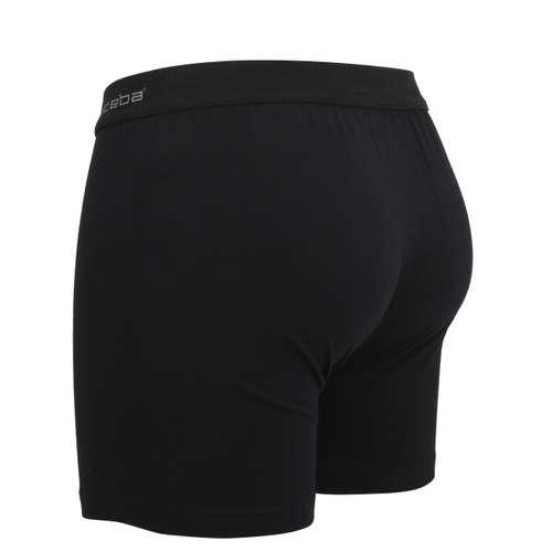 Bild von TOM TAILOR Herren Long-Pants schwarz uni 1er Pack 120° Ansicht