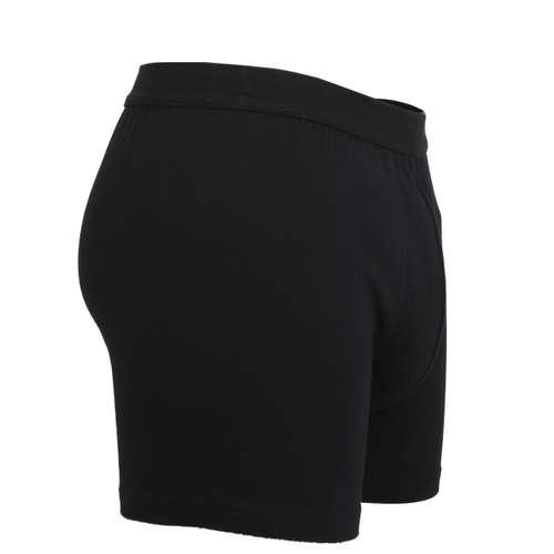 Bild von TOM TAILOR Herren Long-Pants schwarz uni 1er Pack 290° Ansicht
