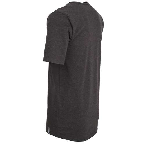 Bild von CECEBA Herren Unterhemd schwarz uni 1er Pack 120° Ansicht