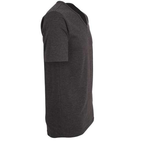 Bild von CECEBA Herren Unterhemd schwarz uni 1er Pack 290° Ansicht