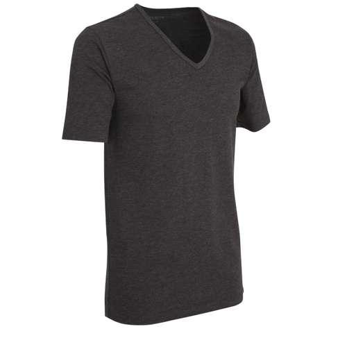 Bild von CECEBA Herren Unterhemd schwarz uni 1er Pack 330° Ansicht