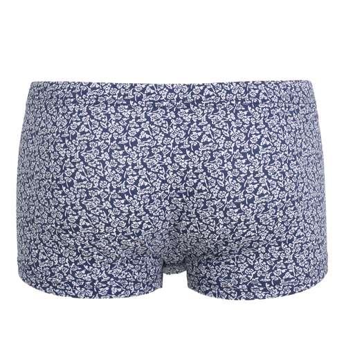 Bild von CECEBA Herren Short-Pants blau bedruckt 1er Pack 180° Ansicht