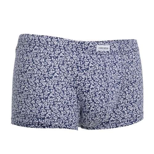 Bild von CECEBA Herren Short-Pants blau bedruckt 1er Pack 330° Ansicht