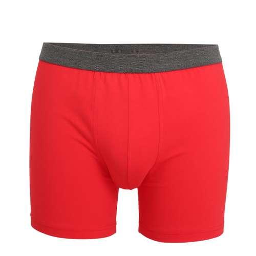 CECEBA Herren Long-Pants rot uni 1er Pack im 0° Winkel