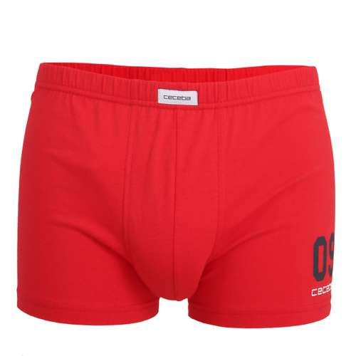 CECEBA Herren Pants rot uni 1er Pack im 0° Winkel