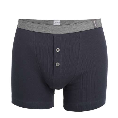 CECEBA Herren Long-Pants blau uni 1er Pack im 0° Winkel