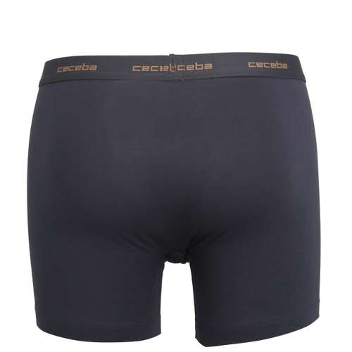 Bild von CECEBA Herren Long-Pants blau uni 1er Pack 180° Ansicht