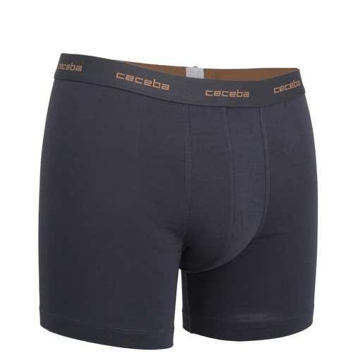 Bild von CECEBA Herren Long-Pants blau uni 1er Pack 330° Ansicht