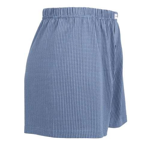 Bild von CECEBA Herren Boxershort blau bedruckt 1er Pack 290° Ansicht