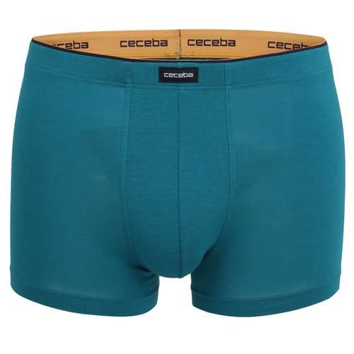 CECEBA Herren Pants grün uni 1er Pack im 0° Winkel