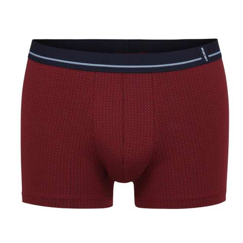 CECEBA Herren Pants rot bedruckt 1er Pack im 0° Winkel