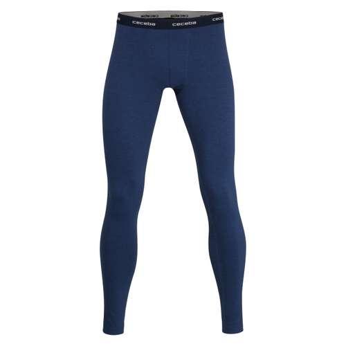 CECEBA Herren Lange-Hose blau melange 1er Pack im 0° Winkel