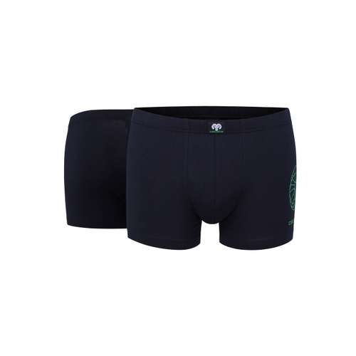 CECEBA Herren Pants blau uni 2er Pack im 0° Winkel