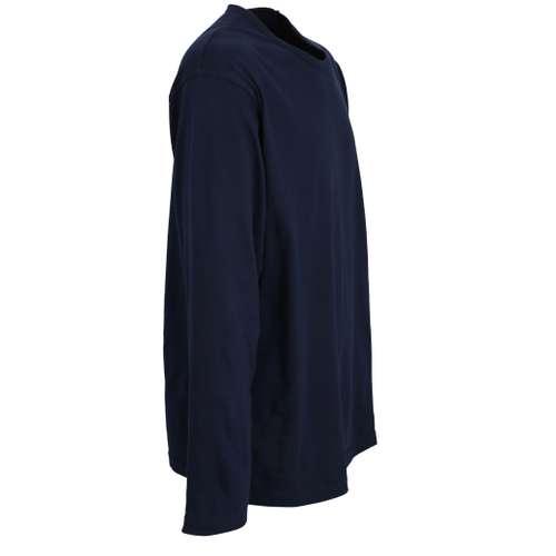 Bild von CECEBA Herren Shirt blau uni 1er Pack 290° Ansicht