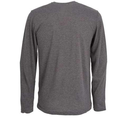 Bild von CECEBA Herren Shirt grau melange 1er Pack 180° Ansicht