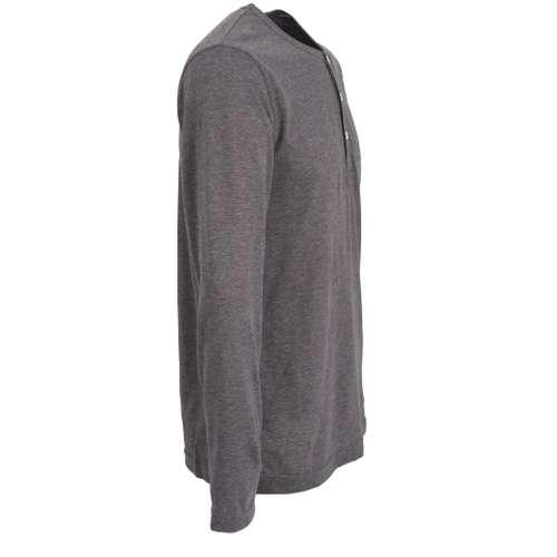 Bild von CECEBA Herren Shirt grau melange 1er Pack 290° Ansicht