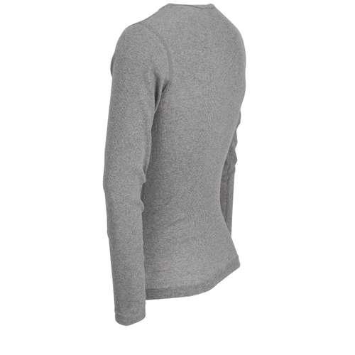 Bild von CECEBA Herren Shirt grau melange 1er Pack 120° Ansicht