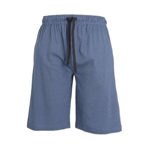 CECEBA Herren Bermuda blau bedruckt 1er Pack im 0° Winkel