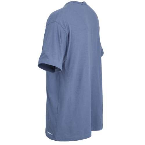 Bild von CECEBA Herren T-Shirt blau melange 1er Pack 120° Ansicht