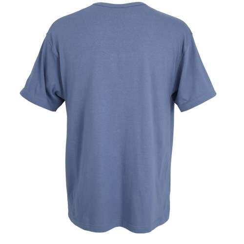 Bild von CECEBA Herren T-Shirt blau melange 1er Pack 180° Ansicht