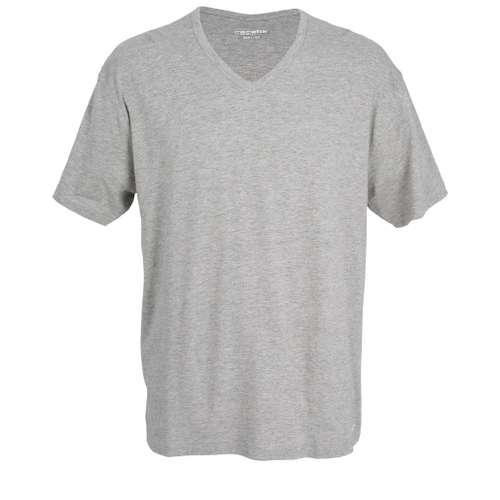 CECEBA Herren T-Shirt melange 1er Pack im 0° Winkel