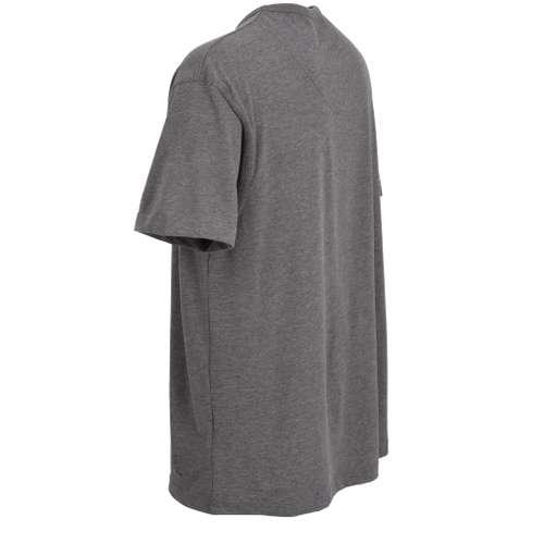 Bild von CECEBA Herren T-Shirt grau melange 1er Pack 120° Ansicht
