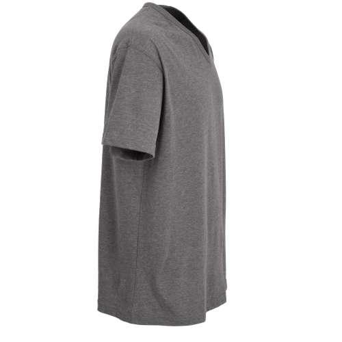 Bild von CECEBA Herren T-Shirt grau melange 1er Pack 290° Ansicht
