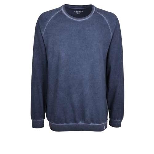 CECEBA Herren Shirt blau melange 1er Pack im 0° Winkel