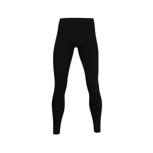 BUGATTI Herren lange Unterhose schwarz uni 1er Pack im 0° Winkel