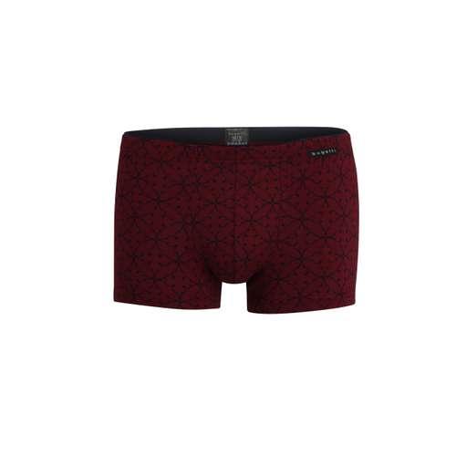 BUGATTI Herren Pants rot bedruckt 1er Pack im 0° Winkel
