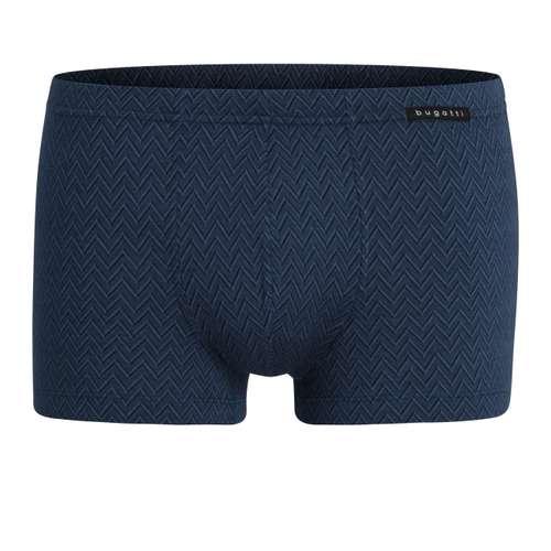 BUGATTI Herren Pants blau mehrfarbig 1er Pack im 0° Winkel