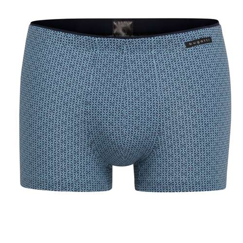 BUGATTI Herren Pants blau bedruckt 1er Pack im 0° Winkel