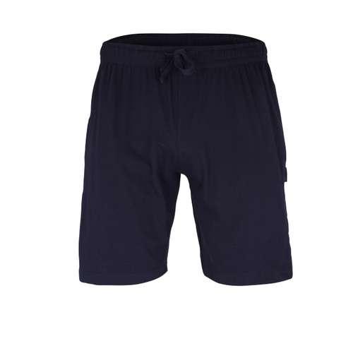 BUGATTI Herren Bermuda blau uni 1er Pack im 0° Winkel