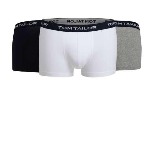 TOM TAILOR Herren Pants weiß melange 3er Pack im 0° Winkel