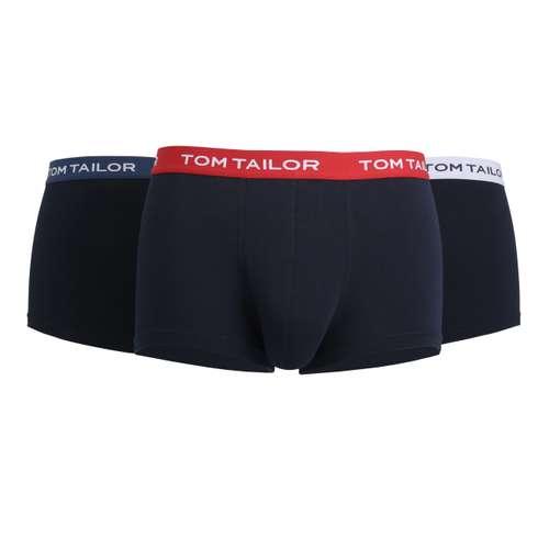 Bild von TOM TAILOR Herren Hip Pants blau melange 3er Pack 0° Ansicht