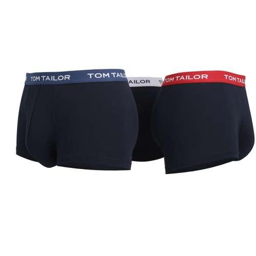 Bild von TOM TAILOR Herren Hip Pants blau melange 3er Pack 290° Ansicht