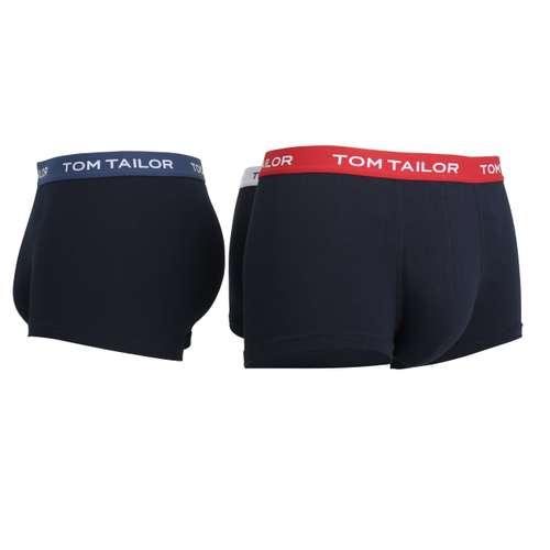 Bild von TOM TAILOR Herren Hip Pants blau melange 3er Pack 330° Ansicht