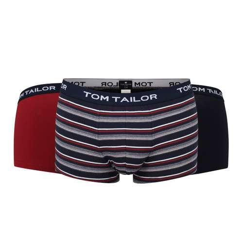 TOM TAILOR Herren Pants blau melange 3er Pack im 0° Winkel