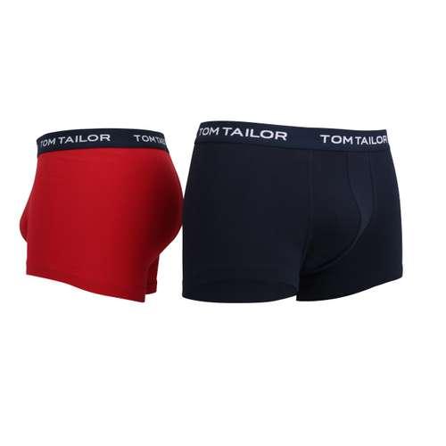 Bild von TOM TAILOR Herren Hip Pants rot melange 3er Pack 330° Ansicht