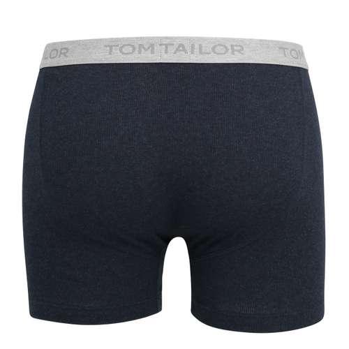 Bild von TOM TAILOR Herren Long-Pants blau melange 1er Pack 180° Ansicht