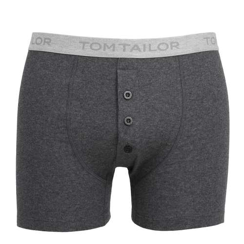 TOM TAILOR Herren Long-Pants grau melange 1er Pack im 0° Winkel