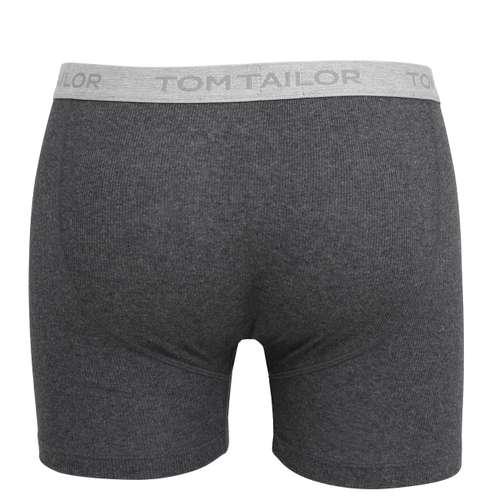 Bild von TOM TAILOR Herren Long-Pants grau melange 1er Pack 180° Ansicht