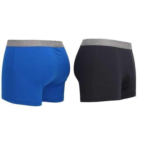 Bild von TOM TAILOR Herren Pants blau uni 2er Pack 120° Ansicht
