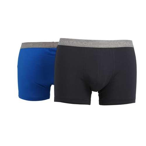 Bild von TOM TAILOR Herren Pants blau uni 2er Pack 180° Ansicht